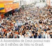 Fiéis da Assembléia de Deus