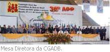 Mesa Diretora da CGADB